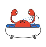 Crab in Bathtub