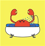 Crab in Tub (Yellow)