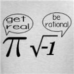 Get Real; Be Rational