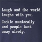 Laugh vs Cackle