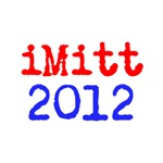 iMitt 2012 Red and Blue Mitt Romney