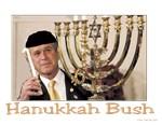 Funny Hanukkah Bush