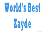 World's Best Zayde