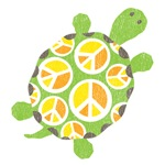 Peace Sign Turtle
