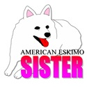 American Eskimo Sister