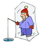 1684 Ice Fisherman