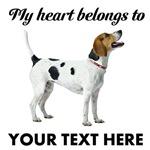 Personalized English Foxhound T-Shirts