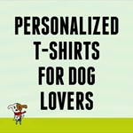 Personalized Dog Lover T-Shirts