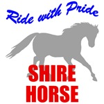 Ride With Pride Shire Horse