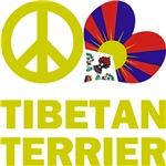 Peace Love Tibetan Terrier