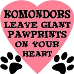 Komondor Pawprints