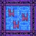 Purple Cat Quilt