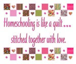 Homeschooling is Like a Quilt...