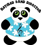 Retired Band Director Music Panda Gifts