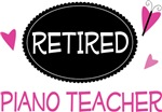 Retired Piano Teacher Gifts and Tshirts