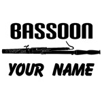 Personalized Bassoon Music T-shirt Gifts