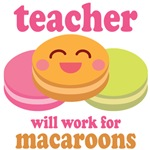 TEACHER T Shirts and Gifts (macaroon)