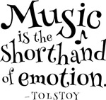 Music Shorthand Emotion Tolstoy Gifts