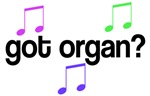 Got Organ T-shirts And Gifts