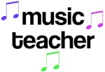 Colorful Music Teacher