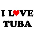 I Love Tuba! T-shirts and Gifts