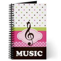 MUSIC PRACTICE NOTEBOOKS AND JOURNALS