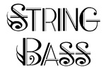 Classic String Bass T-shirts and Gifts