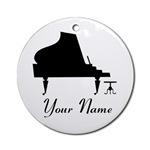 PERSONALIZED PIANO ORNAMENTS | PIANO ORNAMENT GIFT