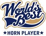 World's Best Horn Player T-shirts