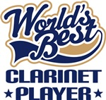 Worlds Best Clarinet Player T-shirts and Gifts