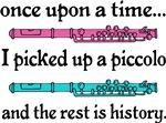 Cute Piccolo Fairytale Music T-shirts