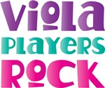 Viola Players Rock T-shirt Gifts