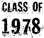 Grunge Class Of 1978 Reunion T-shirts