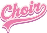 CHOIR Pink Music GIFTS and T-SHIRTS