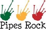 Bagpiper Music Pipes Rock Tshirt Gifts