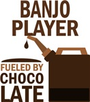 Banjo Player Fueled By Chocolate Gifts