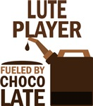 Lute Player Fueled By Chocolate Gifts