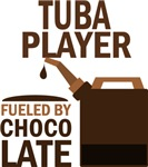 Tuba Player Fueled By Chocolate Gifts