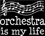 Orchestra is My Life Music Staff Gifts and Shirts
