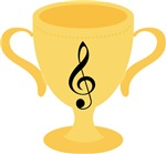 Music Trophy Recognition Gifts and Tshirts