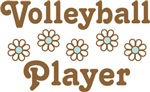 Volleyball Player Daisy T-shirts and Gifts