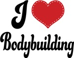 I Heart Bodybuilding T-shirts and Gifts