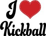 I Heart Kickball T-shirts and Gifts