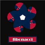Fibonacci Red White Blue