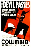 The Devil Passes WPA Poster