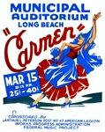 Carmen WPA Poster