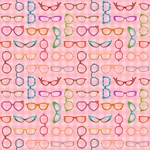 Retro Eyeglasses Pattern