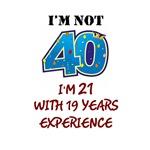 I'm Not 40...