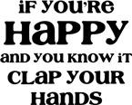 If Happy Clap