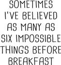 Sometimes Believed